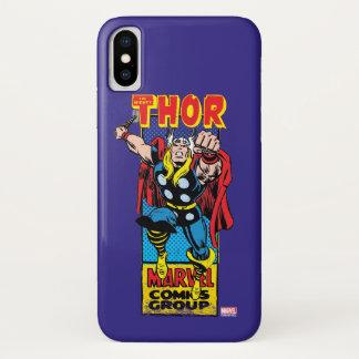 Thor Retro Comic Graphic iPhone X Case