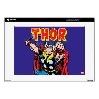 Thor Retro Comic Graphic Skins For Laptops
