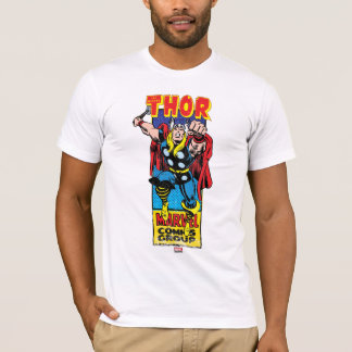 Thor Retro Comic Graphic T-Shirt