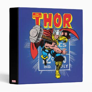 Thor Retro Comic Price Graphic Binder