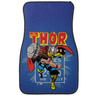 Thor Retro Comic Price Graphic Car Floor Mat