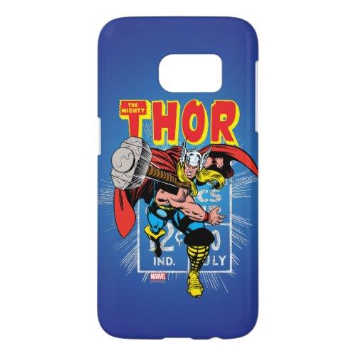 Thor Retro Comic Price Graphic Phone Case