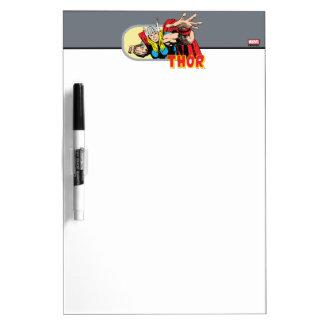 Thor Retro Graphic Dry-Erase Board