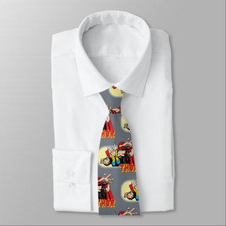 Thor Retro Graphic Neck Tie