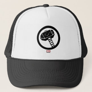 Thor Retro Hammer Icon Trucker Hat