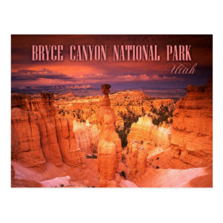 Thor s Hammer Bryce Canyon National Park UT Post Card