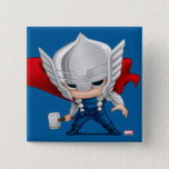 Thor Stylized Art Pinback Button