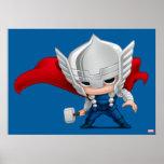 Thor Stylized Art Poster