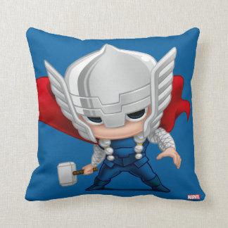 Thor Stylized Art Throw Pillow