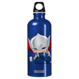 Thor Stylized Art Water Bottle