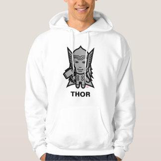 Thor Stylized Line Art Hoodie
