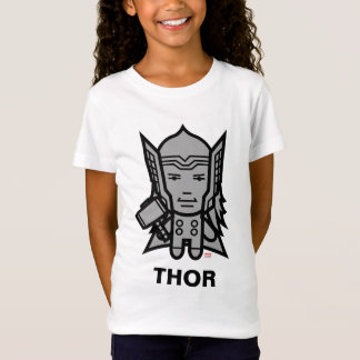 Thor Stylized Line Art T-Shirt