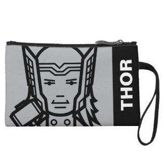 Thor Stylized Line Art Wristlet