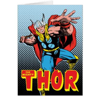 Thor Swing Back Mjolnir Card
