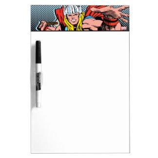 Thor Swing Back Mjolnir Dry Erase Board
