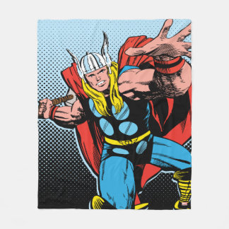 Thor Swing Back Mjolnir Fleece Blanket