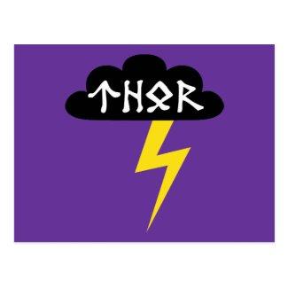 Thor Thunderbolt postcard