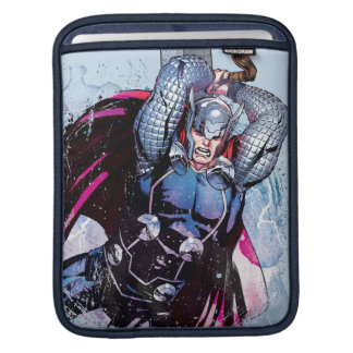 Thor Watercolor Character Graphic iPad Sleeves