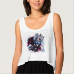Thor Watercolor Character Graphic Tank Top