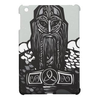 Thor y Mjolnir iPad Mini Carcasas