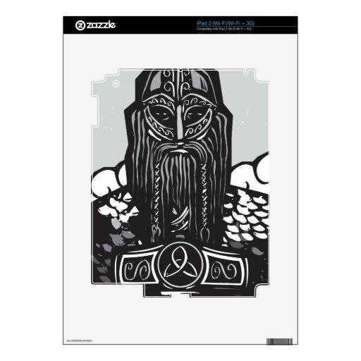 Thor y Mjolnir iPad 2 Skin
