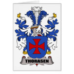 Thorasen Family Crest Cards