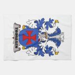 Thorasen Family Crest Hand Towel