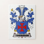 Thorasen Family Crest Jigsaw Puzzles