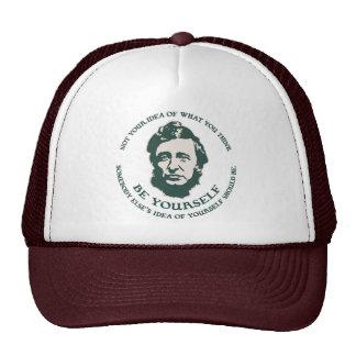 Thoreau - Be Yourself Trucker Hat