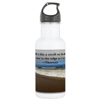 Thoreau, Beach, Water bottle