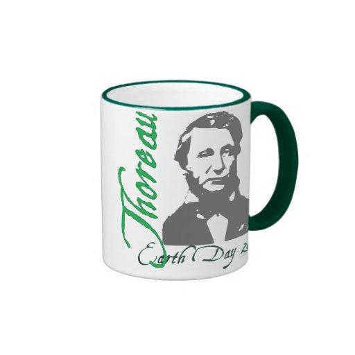 Thoreau Earth Day 2010 Mug