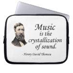 Thoreau en sonido y música manga computadora