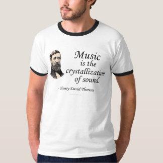 Thoreau en sonido y música playeras