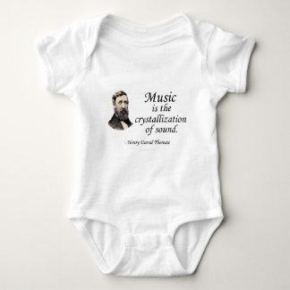 Thoreau en sonido y música poleras