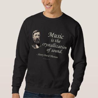 Thoreau en sonido y música suéter