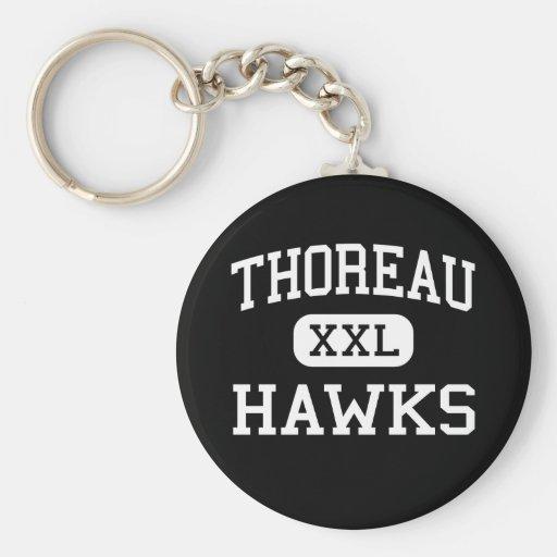 Thoreau - halcones - High School secundaria - Thor Llavero Redondo Tipo Pin