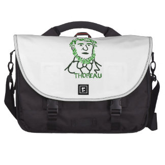 Thoreau-ly Green Bags For Laptop