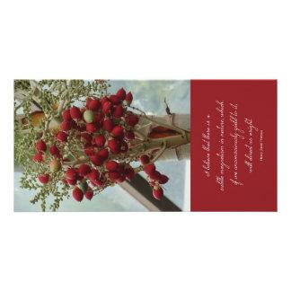 Thoreau Nature Quote Photocard Personalized Photo Card