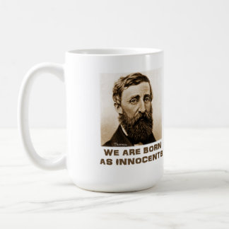 Thoreau on Advice Coffee Mug