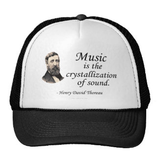 Thoreau on Sound and Music Trucker Hat