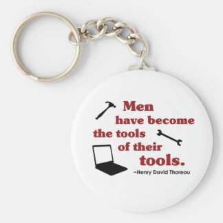 Thoreau on Tools Keychain