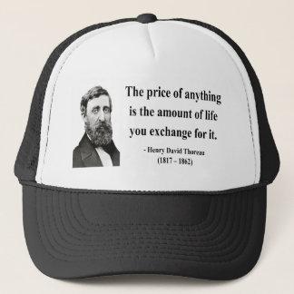 Thoreau Quote 6b Trucker Hat