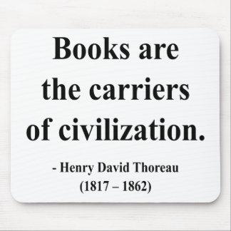 Thoreau Quote 9a Mouse Pad