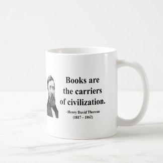 Thoreau Quote 9b Coffee Mugs