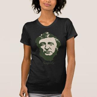 Thoreau - Simplify T-Shirt