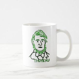 Thoreau verde taza de café