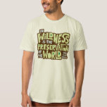 Thoreau Wildness (scratched) T Shirt