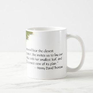 Thoreau's Nature Coffee Mug