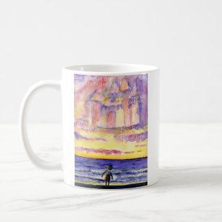 Thoreau's Sunset (Light Text) Mug