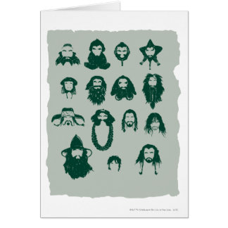 Thorin and Company Hair Greeting Card